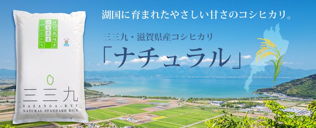 最高峰「東近江産」コシヒカリ