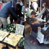 京都市中央市場「びんじょう市」開催